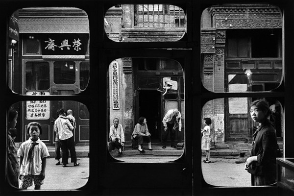 Marc Riboud pechino fotografia strada