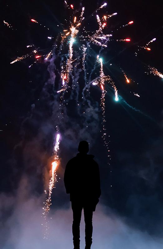 come fotografare fuochi d'artificio