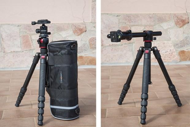 Treppiede fotografia K&F Concept TM2515T caratteristiche