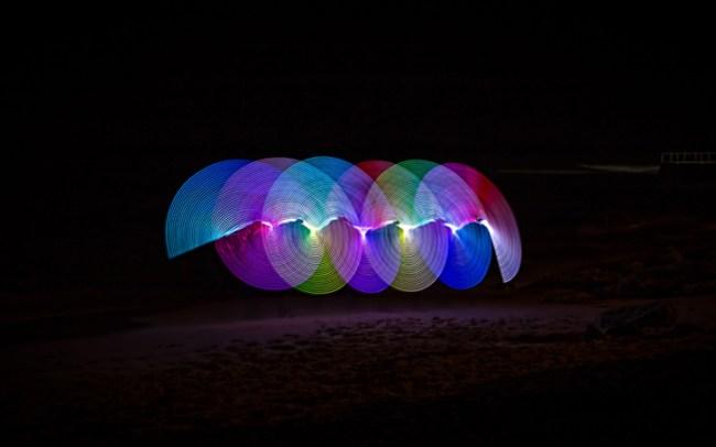 fotografare luci in movimento effetti