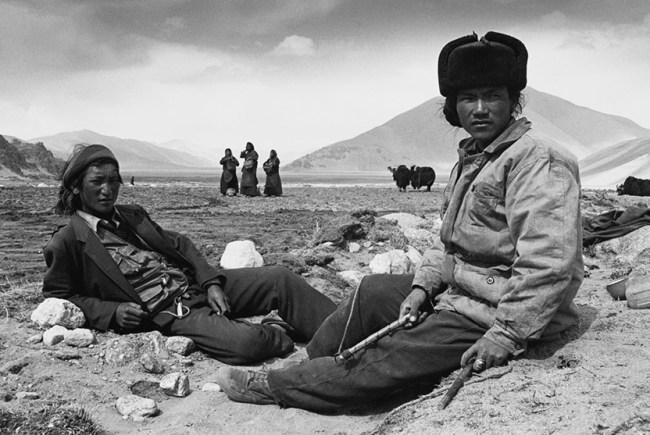 Lu nan four seasons fotografia contadini tibetani