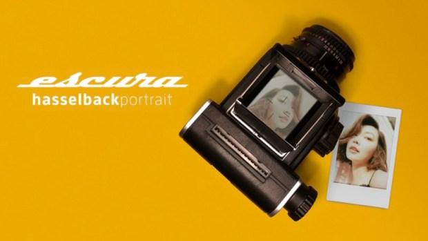 EscuraThe Hasselblad Portrait dorso Instax instantanea pellicola