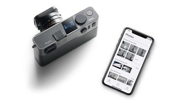 pixii nuova fotocamera digitale M montatura a telemebro senza lcd