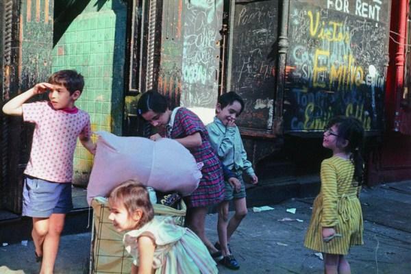 helen levitt fotografia a colori bambini fotografa donna migliori