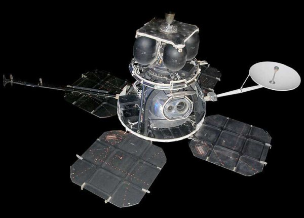 foto sonda che fotografa kodak 70 mm Bimat lunar-orbiter-1