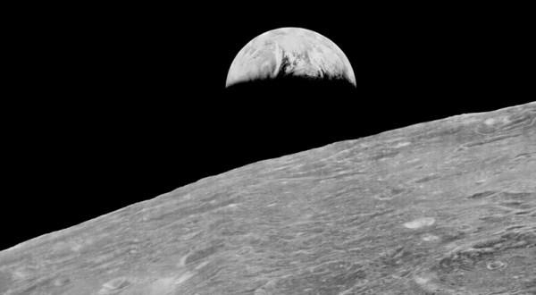 prima foto della terra dalla luna storia della fotografia