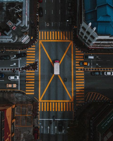 riprese aeree drone nella fotografia d'architettura