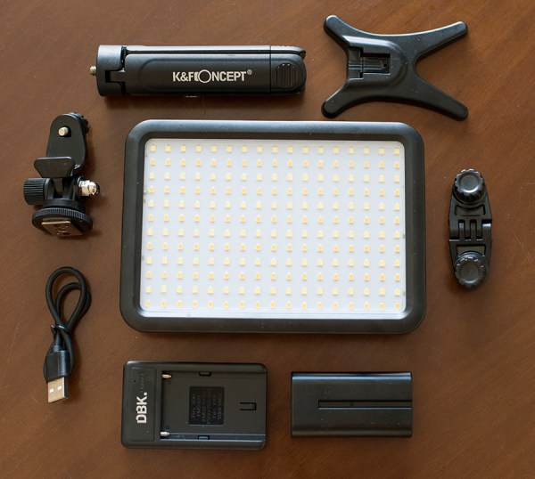 KF Concept Led-300 luce opinioni fotografia attrezzatur
