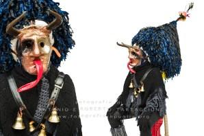 Aliano (MT) , 04 marzo 2014 (martedì grasso). Una maschera cornuta. https://fotografiainpuglia.org/2014/03/07/viaggio-ad-aliano/