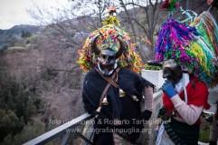 Aliano (MT) , 04 marzo 2014 (martedì grasso). La sfilata nel paese.