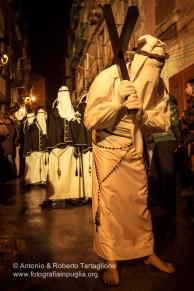 Taranto (TA), Centro Storico, notte del Venerdì Santo, Processione dell'Addolorata, anno 2013