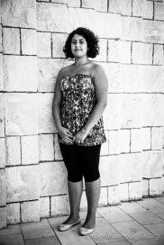 Laura Virgallito, quest'anno irriconoscibile nei panni della fattucchiera. (Foto agosto 2014)