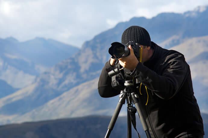 distância focal controlar