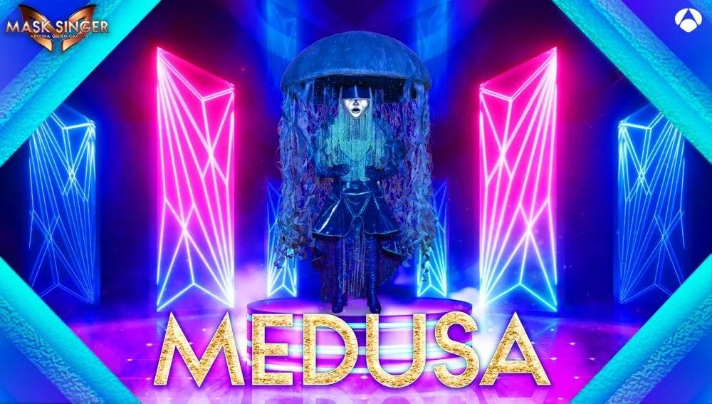 La Medusa, máscara confirmada para la segunda edición de 'Mask Singer'