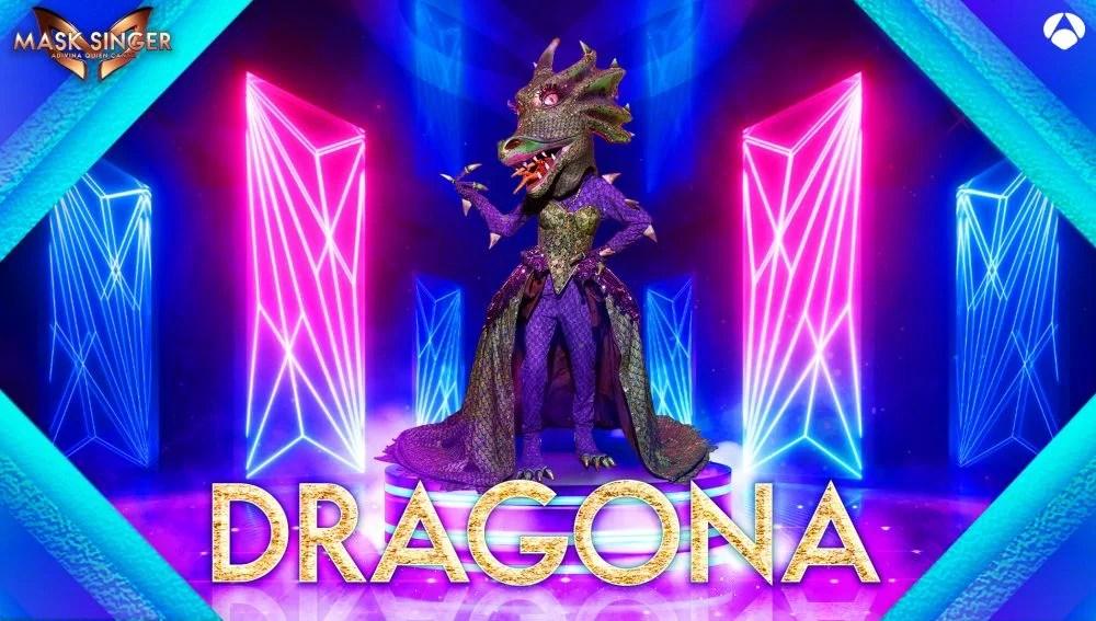 La Dragona, máscara confirmada para la segunda edición de 'Mask Singer'