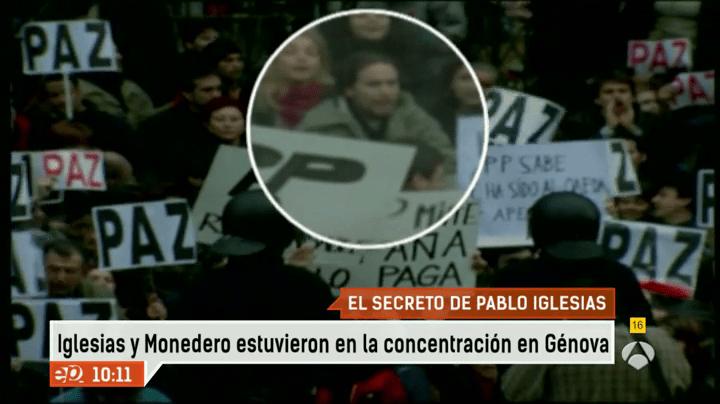 Image result for pablo iglesias tras el 11 M
