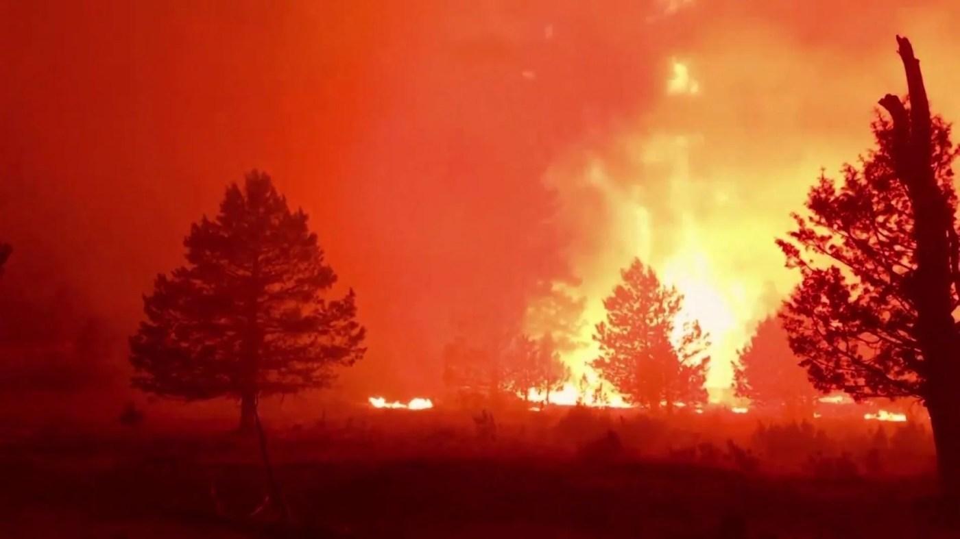 Incendio Oregón