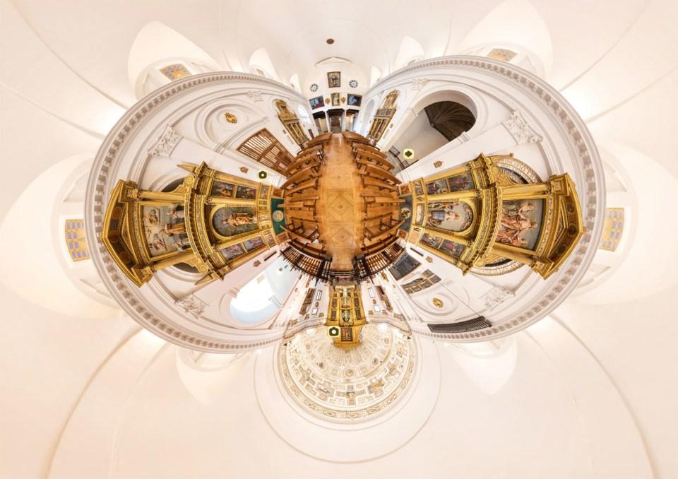 Iglesia del Convento la Inmaculada –  TOUR VIRTUAL 360º – Toledo