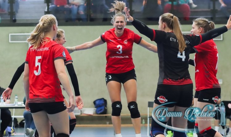 2. Bundesliga | ETV Volleyball Damen vs. Stralsunder Wildcats 3:2
