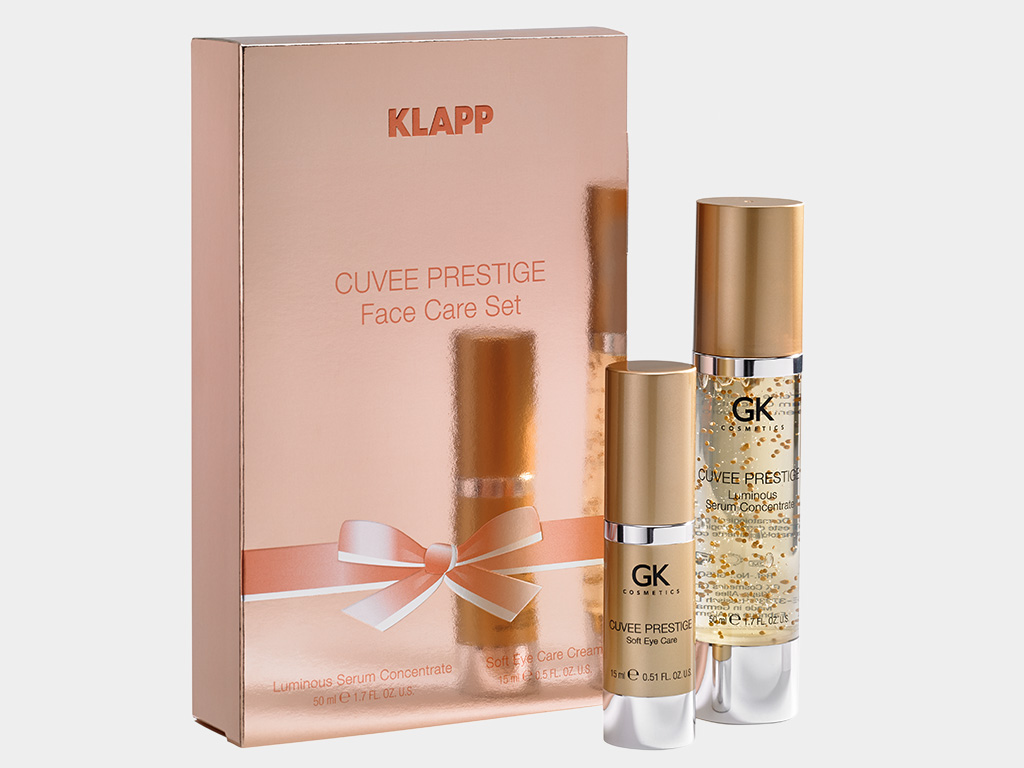 CUVEE PRESTIGE Face Care Set KLAPP Cosmetics