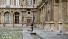 Fotograferen in Parijs is vooral ook architectuur fotograferen zoals hier bij het Louvre.