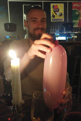 Jan und der rosa Luftballon