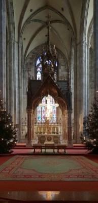 Altarraum der gotischen Erweiterung