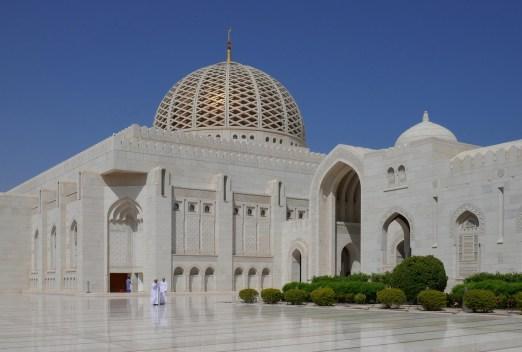 Sultan-Quabus- Moschee in Muskat, Oman