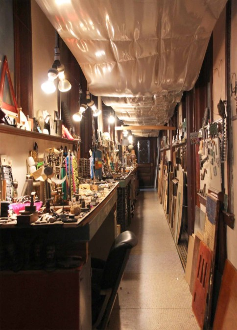 a long corridor with more collectables