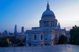 St.Paul's zur blauen Stunde