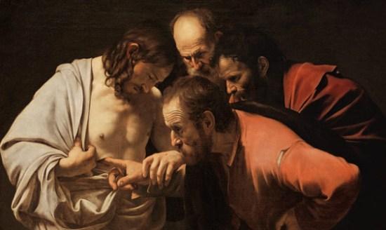 Caravaggio, Der ungläubige Thomas