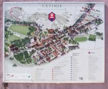 Stadtplan Cetinje