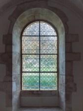 Abbaye de Fontenay (Fenster im Parlarium)