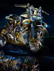 Produktfotos, Webefotograf München: Motorrad