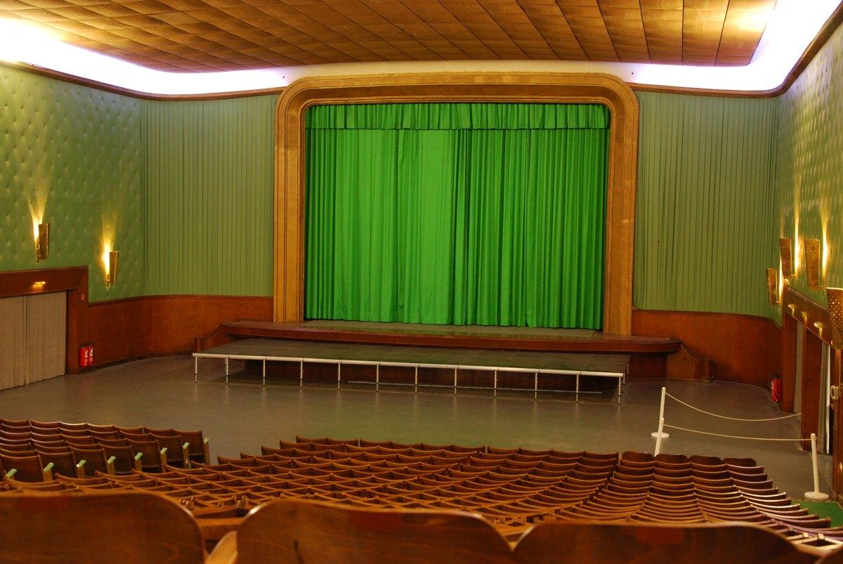 Der alte Kinosaal in der Ordensburg Vogelsang