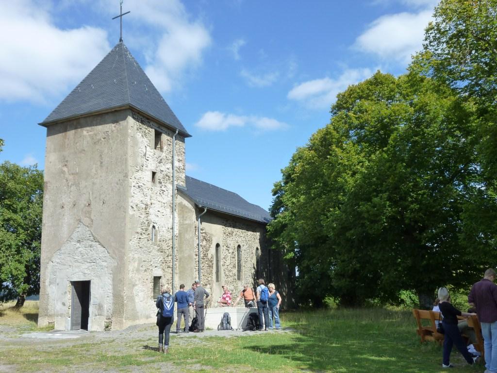 Kapelle in der Wüstung Wollseifen
