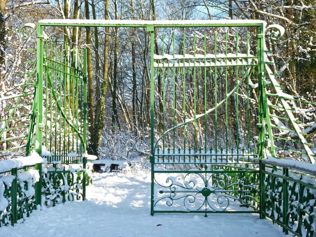 Tor zum Schneegarten