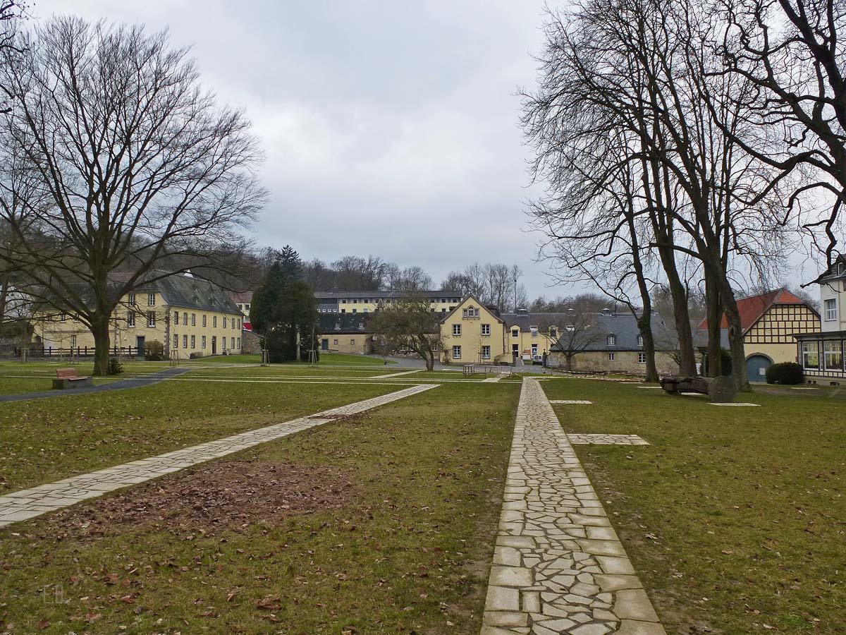 Klosteranlage - Sieben Bergen