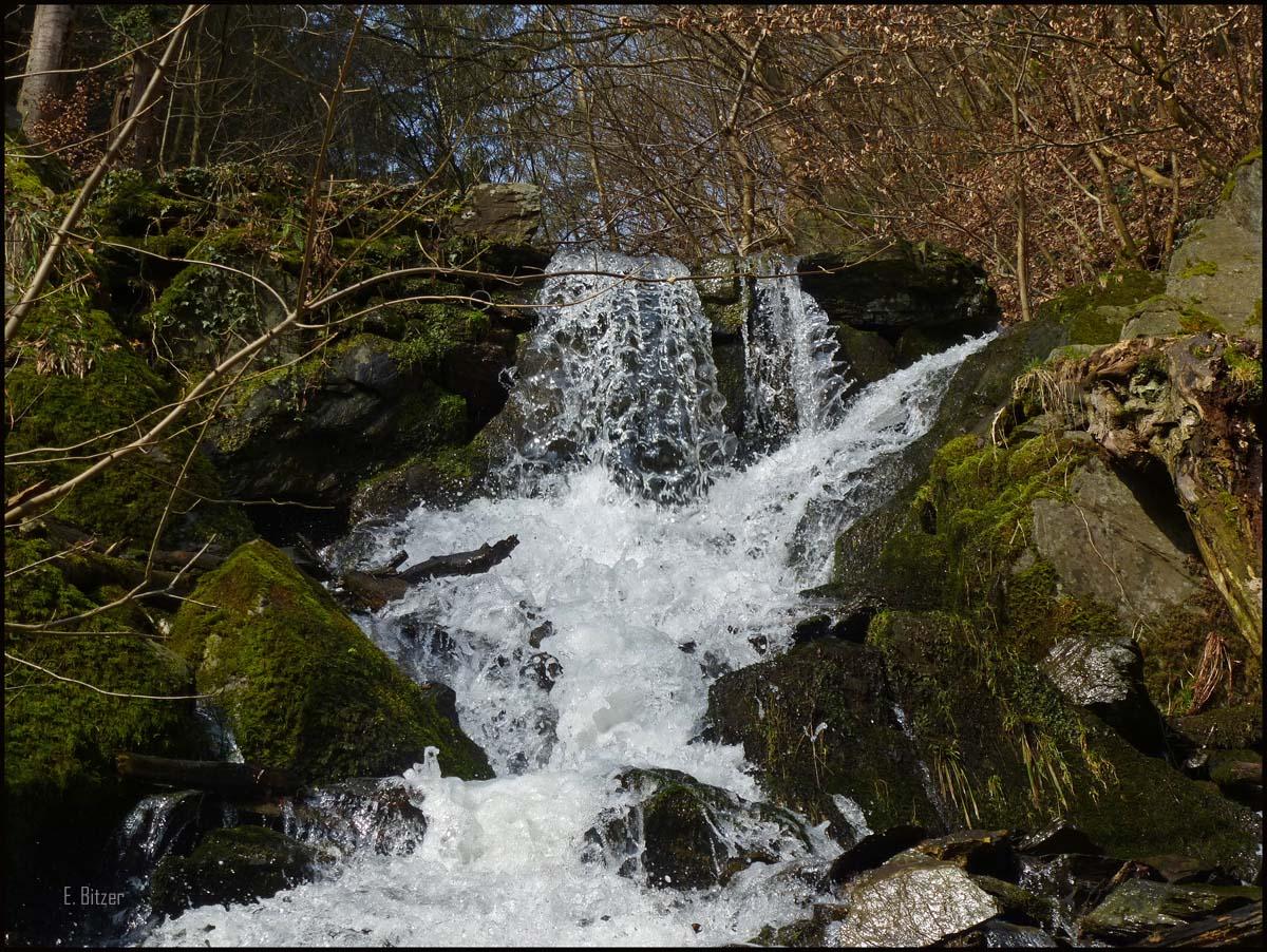 Wasserfall Laubachtal
