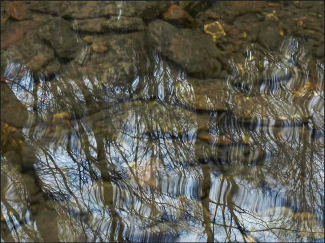 Auch hier viel Wasser, wenn auch in diesem Bereich nicht so üppig wie im Saalbach- und Gelpetal oder bei mir das Helenen- und Eifgenbachtal