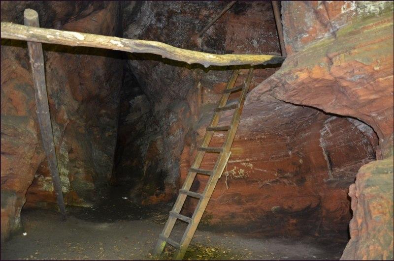 An diesem Tag wage ich mich nichtmal auf diese Leiter *schäm* keine Ahnung wieso. Der nächste Tag auf dem riesigen Felsen hat mir dann kaum Angst eingeflöst.