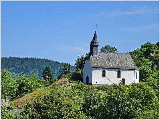 Die Kapelle an der Virneburg
