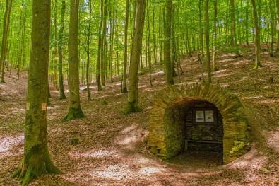 Historische Köhlerhütte