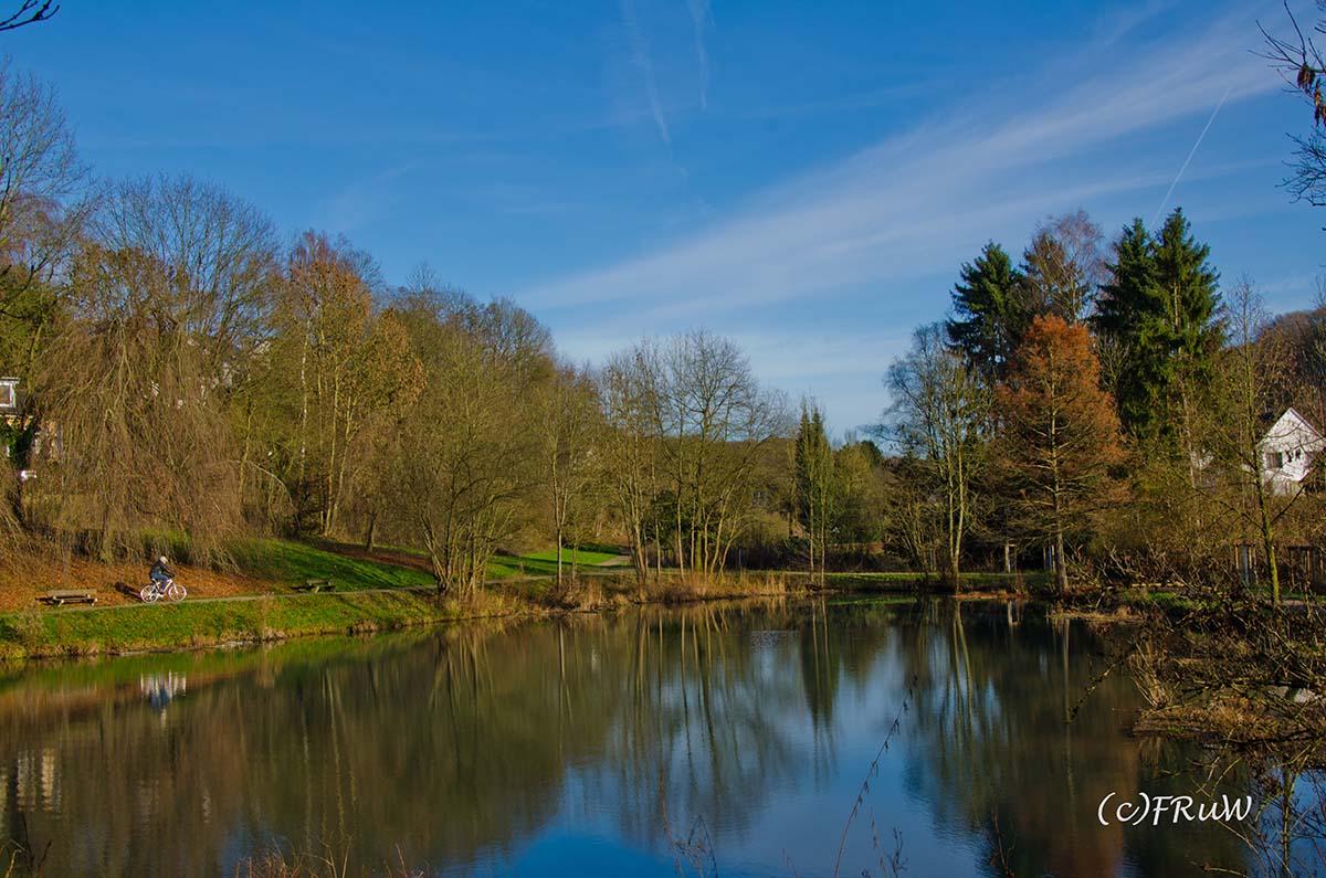 Burg Zweiffel Teich