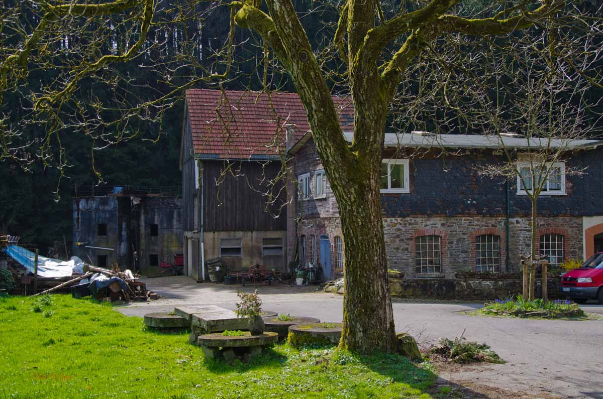 Mühlen zwischen Berg und Tal