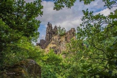 Hexenstieg zwischen Thale und Treseburg