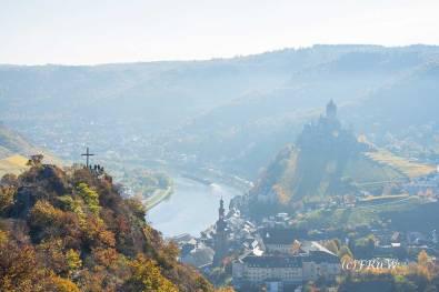Blick auf die Reichsburg