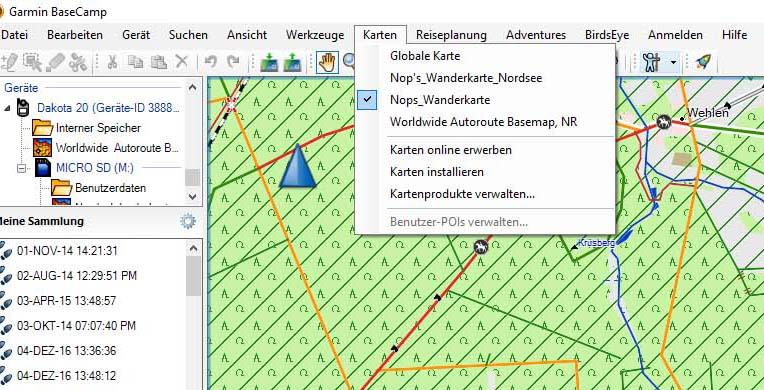 bc - Einrichtung und Nutzung Outdoornavigationsgerät