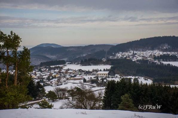 Blick auf Arft und Langenfeld