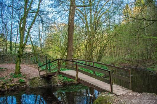 Brücke über die Lineffe